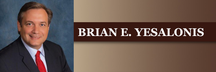 <strong>BRIAN E. YESALONIS</strong>