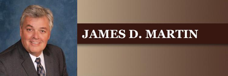 <strong>JAMES D. MARTIN</strong>