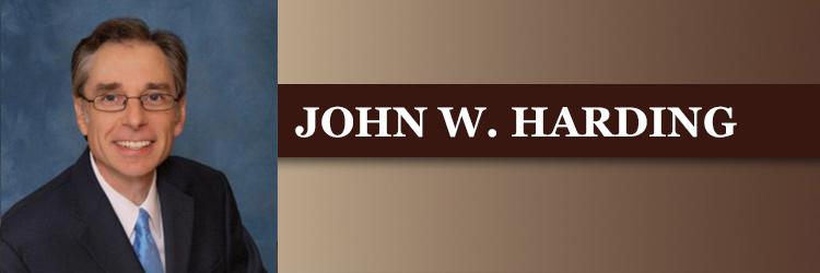<strong>JOHN W. HARDING</strong>